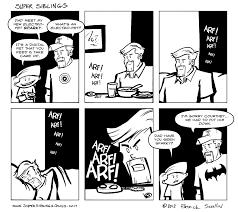 super siblings tamagotchi comic strip