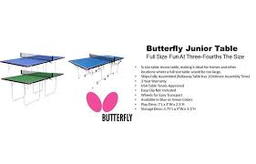 redline ping pong table reviews charming butterfly junior table tennis set pictures best image