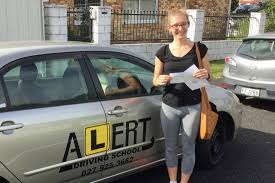grace passed her manual restricted driving test at westgate