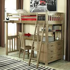 Wooden Bunk Bed With Desk Wooden Loft Bed Holidaysale Club