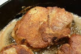 pan fried pork chops caveman keto