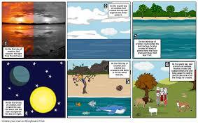 what day did god create light genesis 1 storyboard by cedrickabuvillanueva