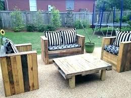 Wooden Outdoor Patio Furniture Handmade Wooden Outdoor Furniture For Pallet Handmade Patio