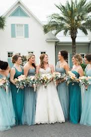 wedding bridesmaid dresses turquoise coastal inspired wedding at atlantic country club