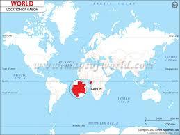 gabon in world map where is gabon location of gabon