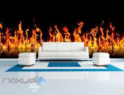 3d fire flame wall murals wallpaper paper art print decor idcqw 3d fire flame wall murals wallpaper paper art print decor idcqw 000338