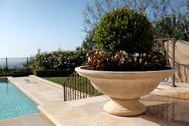 Low Bowl Planter by Planters U0026 Finials Bt Architectural Stone
