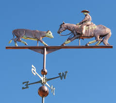Horse Weathervane On Stand Reining Horse Weathervane Custom Design Available