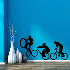 Cycling Home Decor Free Shipping Cool 3 Bicycle Bike Cycling Bmx Sport Home