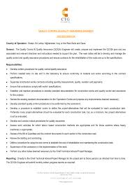 Civil Engineering Sample Resume 100 Sample Resume For Civil Quality Engineer Resume Good It