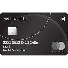 elite debit card world elite mastercard credit card travel benefits