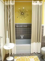 Grey Bathroom Curtains Soft Neutral Shower Curtains