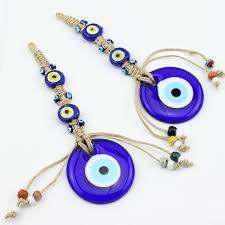 turkey evil blue eye amulet macrame home decoration ornament