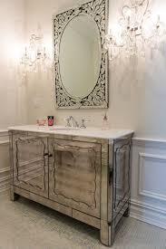 Vanity Powder Room Art Deco Powder Room With Venetian Mirror Zillow Digs Zillow