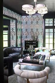Kelly Wearstler Wallpaper by Kelly Wearstler Interiors Tribeca Loft Residential Interiors
