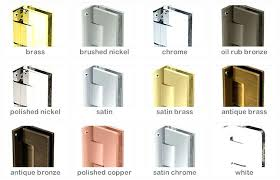 Leaking Frameless Shower Door by Frameless Shower Door Hinges Crystalline Hinge Semi Diagram