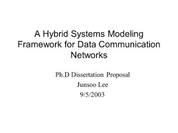 Hybrid Modeling of TCP Congestion Control Jo  o P  Hespanha     SlidePlayer A Hybrid Systems Modeling Framework for Data Communication Networks Ph D Dissertation Proposal Junsoo Lee