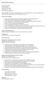 Sample Resume For Staff Nurse by Registered Dental Assistant Cover Letter Above Is The Image Of