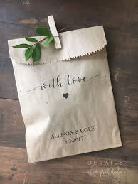 simple wedding favors wedding cookie bags buffet sacks custom wedding favors 25