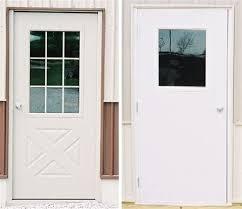 Exterior Doors Columbus Ohio 9 Lite Crossbuck Exterior Door 14 Amish Custom Doors Americana