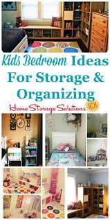 kids bedroom ideas for storage u0026 organization
