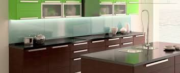 Modern Kitchen Backsplash  Lacquered Glass Makes An Ultra - Modern kitchen backsplash