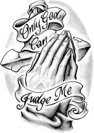 only god can judge me only god judge me tattoos