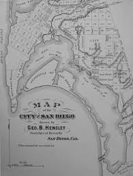 Map San Diego Historical Maps Of San Diego