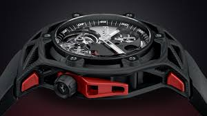 ferrari techframe ferrari 70 years tourbillon chronograph