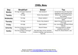 ww2 rationing worksheets by my learning teaching resources tes