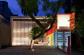 22 most beautiful houses made from shipping containers painted shipping containers decameron marcio kogan exterior