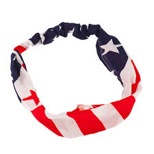 4th of july headbands american flag stripes 4th of july stretch headband band
