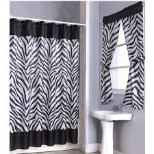 brown zebra shower curtain home design inspirations