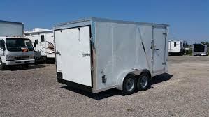 enclosed trailer exterior lights haulin cargo trailer 7 x 14 platinum rv