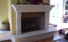 raised fireplace hearth fire