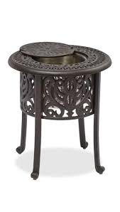 Metal Patio Side Table Outdoor Side Table With The Stunning Metal Patio