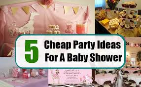 baby shower ideas on a budget cheap party ideas for a baby shower tips to plan a inexpensive