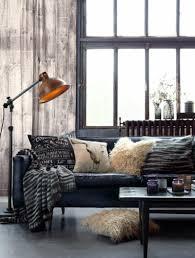Wohnzimmer Einrichten Mit Schwarzem Sofa Industrial Look Wohnzimmer Kreative Bilder Für Zu Hause Design