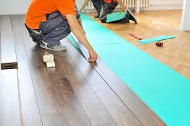 How To Lay A Laminate Floor On Concrete Laying Laminate Wood Floors House Flooring Ideas
