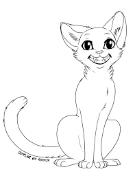 Cat Drawing Template cat template 03 2014 by rukifox on deviantart
