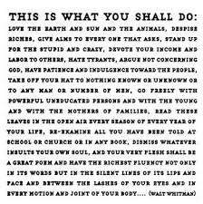quotable cards this is what you shall do preface to leaves of grass 1855 by
