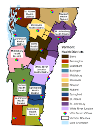 State Of Vermont Map by Public Health Gis Vermont Department Of Health