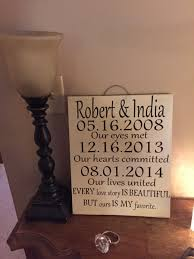 wedding plaques personalized wedding
