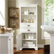 tall slim white gloss bathroom cabinet maine slim freestanding