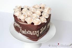 How To Decorate Heart Shaped Cake Chocolate Hazelnut Heart Shaped Cake 2013 Wedding Anniversary