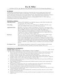 information technology resume samples network technician resume examples resume for study