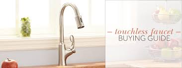 kitchen faucet buying guide touchless faucet buying guide
