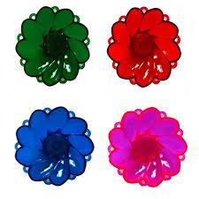 thanksgiving gifts set of 4 diyas colorful shadow