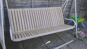 ikea garden bed how to renovate a garden seat with ikea bed slats 6 steps with