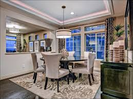dining room magnificent ceiling light over dining table led